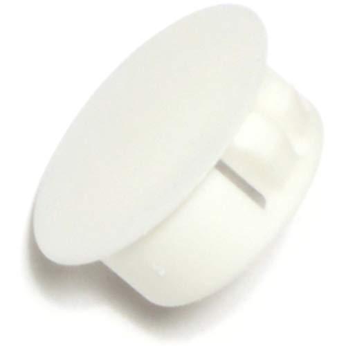 Hard-to-Find Fastener 014973169763 White Hole Plug, 3/4-Inch ()