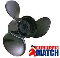 Michigan Wheel Propellers 012007 8.25X8.5 3 Blade Alum Prop Made by Michigan Wheel Propellers