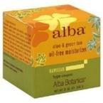Alba Botanica Hawaiian Oil-Free Moisturizer, Aloe & Green Tea, 3 oz. (Oil Tea Free Moisturizer)