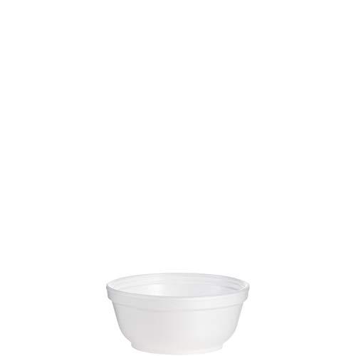 Foam Bowls Proof Soak - Dart 8B20 8 oz Foam Bowl (Case of 1000)