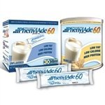 Applied Nutrition PhenylAde 60 Drink Mix - Vanilla - 1lb Can