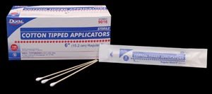 Dukal 9006 Non-Sterile 6 Cotton Tipped Applicators 10 Bags (DKL9006) Category: Medical Supplies