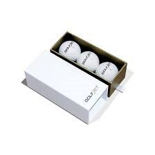 GolfJet JET3 Sleeve | 3 x Premium JET3 Golf Balls. 3-Layer Power Core, SuperSoft 338 Dimple Hex Aero Urethane Cover. Longer Flatter Drives, More Game Spin, Optimum Feel For Ultimate Control.