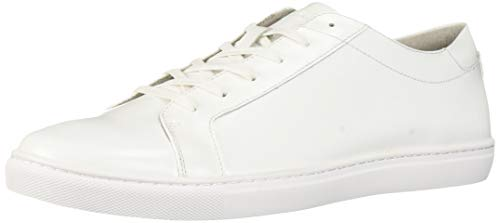 - Kenneth Cole New York Men's Kam Sneaker, White Box Leather, 11 M US