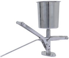 UniWorld Stainless Steel Churro Pastry Filler 2 Liter UCM-CF2 by Uniworld