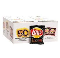 - Lay's Barbecue Potato Chips, 1 oz (50 Bags)