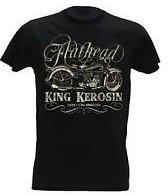 King Kerosin T-Shirt Flathead Vintage Black