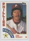Mike Schmidt (Baseball Card) 1984 Topps - [Base] #388
