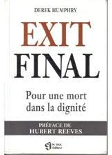 Final Exit Derek Humphry Pdf
