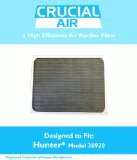 1 Hunter 30920 Air Purifier Filter; Fits Hunter Models: 30050, 30055, 30065, 37065, 30075, 30080 & 30177; Designed & Engineered by Crucial Air