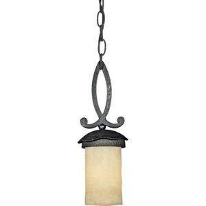 Quoizel LP1505IB One Light Mini Pendant, Small, Imperial Bronze