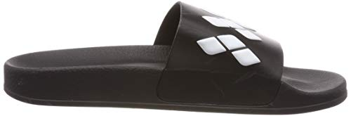 Team white Black Sandals Badeschuhe black Stripe Arena Unisex Slide 2018 vqdv0B