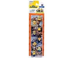 Minions Movie, Exclusive 8-Piece Minion Gift Set, 1-Inch (Minion Figurines)