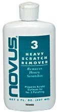 CRL No. 3 (Heavy) Novus Plastic Polish by CR - Filler For Scratch Glasses