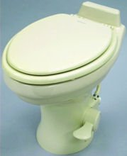 Dometic 320 Series Standard Height Toilet, Bone by Dometic
