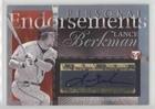 Endorsements Autograph - Lance Berkman (Baseball Card) 2004 Topps Pristine - Personal Endorsements Autographs #PEA-LB