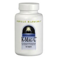 K-Mag C, 674 mg, 60 Tabs by Source Naturals (Pack of 3)