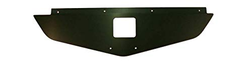 - 70-72 Chevelle Radiator Show Filler Panel Black Anodized no Engraving 702CH-00B