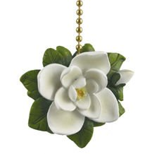 Magnolia Flower Ceiling Fan Pull