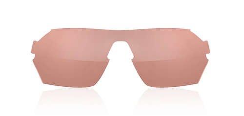 Podium verres de rechange pour lunettes de soleil Extra Tifosi AC-tout (Rouge) (État 41,4%  de la lumière)