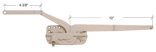 CRL Truth Encore Steel, Left Hand Dual Arm Operator EP27003