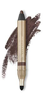 Velvet Eyeliner Pencil by Artisan L'uxe Beauty | Water-Resistant & Smudge Proof | Long-Lasting, Age-Defying Formula | Velvet Eye L'uxe | Sue Devitt | Chocolate Brown | Seduction