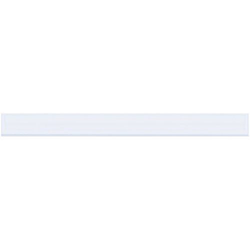 """HOL-DEX LH110 Plastic Permanent Self-Adhesive Label Holder, 6"""" Length x 1/2"""" Width, Clear (Case of 12)"""