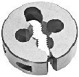 "Special Thread Round Die, High Speed Steel 3/8-28 X 1"" O.D. by Meda - Superior Import"