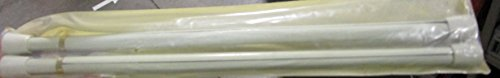 Graber 7/16-Inch Round Spring Shower Curtain Rods Tension Ro