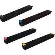 - Sharp MX-3640N MX-2640 MX-3140 Compatible Toner Cartridge Set (Black, Cyan, Magenta, Yellow)