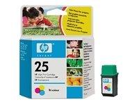 HEW51625A - No. 25 Print Cartridge for HP Deskjet Printers (Ink Cartridges Hp 560)