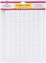Hard Candy Mold (LorAnn Rectangle Breakup Plastic Sheet Mold  (6-Pack))