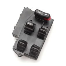 Well Auto Window Master Switch 5 Button Replacement for 94-97 Accord Sedan and Wagon EX for Japan built model