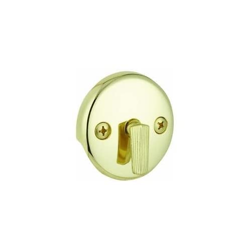 Plumb Craft Polished Brass Bath Plate w/Trip Lever, 76-5951 chic