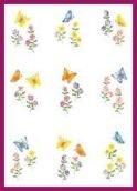 - Vellum - flowers&butterflies