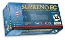 Microflex (MFXSEC375M) Medium Supreno Powder Free Extended Cuff Nitrile Gloves