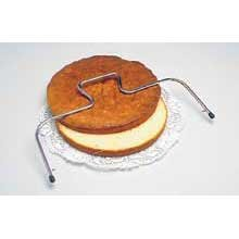 Adjustable Cake Wire Slicer in Stainless Steel [Set of 2]