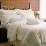 Martex Brentwood Gold Label Super Standard Size Hotel Pillow Set (2 Jumbo - Gold Mar