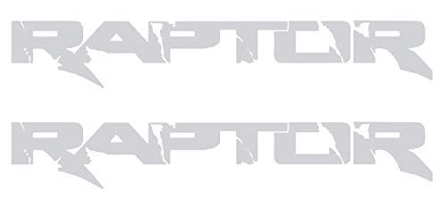 (Ford F150 Raptor SVT Bedside replacement Vinyl Graphic Decals - Style 001 || High Quality Outdoor Rated Vinyl || Ships Free via USPS Priority Mail)
