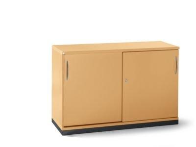 Armadio Metallico Ufficio : Armadio metallico 1 ripiano 2 altezze 2 porte scorrevoli hxlxp