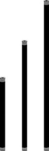 Kichler 15658AZT 24-Inch Fixture Mounting Stems, Architectural Bronze Finish