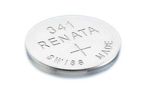 Renata #341 Silver Oxide Battery - 10 Pack -