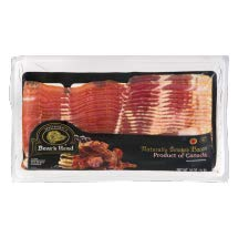 Boar's Head Naturally Smoked Bacon 16 oz (4 Pack) by Boar's Head