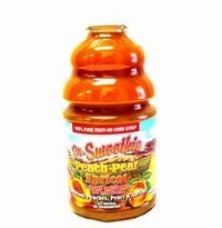 Dr Smoothie Peach Pear Apricot 100% Crushed Fruit Smoothie Concentrate (46oz bottle)