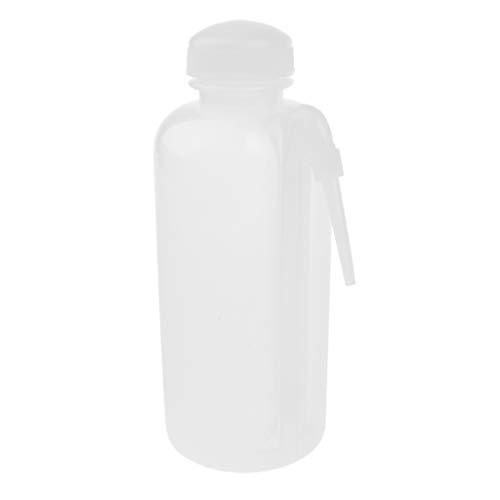 SM SunniMix Plástico De La Botella del Lavado del Laboratorio 500ml con Screwcap, Calor Resistente Al Frío
