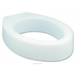 Toilet Seat Elevator-Style Round Dimensions 13.0''W x 16.75''D x 3.5''H - Case of 4