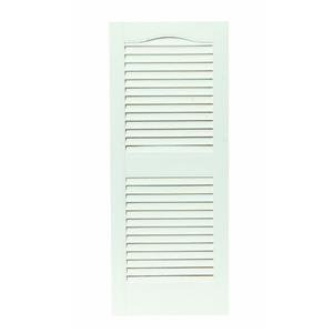 Builders Edge, Inc. 020140048030 Open Louver Vinyl Shutters