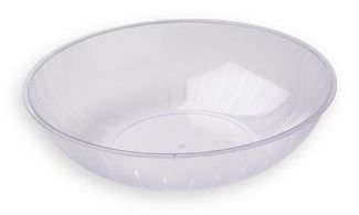 Clear Plastic Serving Bowl, 2-Gallon -