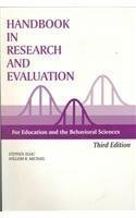 Handbook in Research and Evaluation: A Collection of Principles, Methods, and Strategies Useful in the Planning, Design, and Evaluation of Studies in Education and the Behavioral sciences