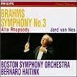 Brahms;Symphony No. 3 by Boston So (1995-02-14)